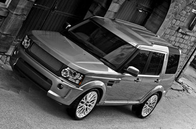 Land Rover Discovery 4 в тюнинге Project Kahn