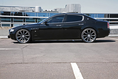 Maserati Quattroporte в тюнинге MR Car Design
